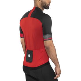 Sportful Strike Bike Jersey Shortsleeve Men red/black